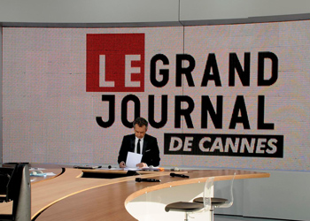 comment assister au grand journal pendant le festival de cannes